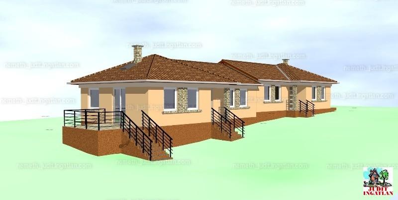 Eladó Új Építésű Ikerház Ecser